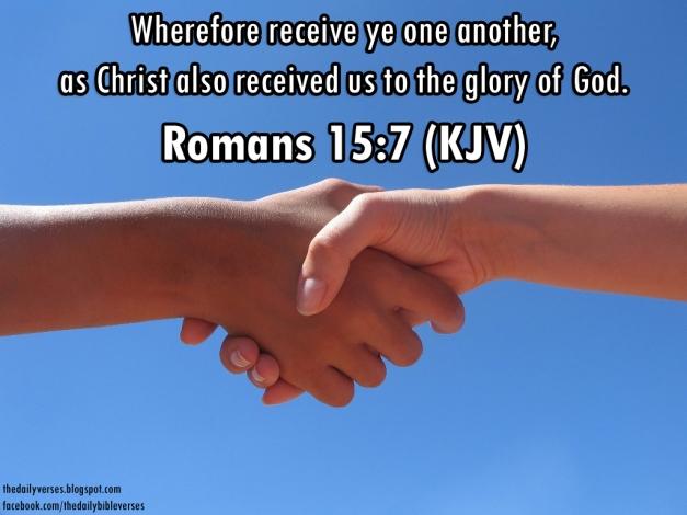 Romans 15.7